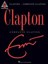 Eric Clapton Complete Clapton Sheet Music Guitar Tablature Book NEW 000690936