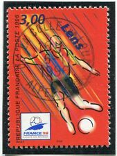TIMBRE FRANCE OBLITERE N° 3010 FRANCE 98 FOOTBALL /
