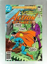 Action Comics #507,#508,#509,#510, #511, #512 DC Comics 1980 Nice Lot OJ Shoe Ad