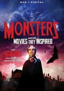 Monsters And The Movies They Inspired [New DVD]