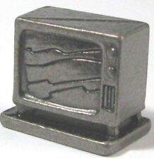 THE SIMPSONS COLLECTIBLE OPENING SCENE TELEVISION TV SET PEWTER FIGURE FIGURINE