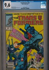 MARVEL COMICS TRANSFORMERS #32 1987 CGC 9.6 WP NEWSSTAND EDITION