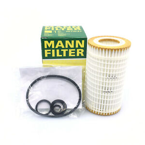For Mercedes Chrysler Dodge Engine Oil Filter Kit Mann 0001802609