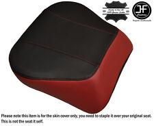 DARK RED & BLACK CUSTOM FITS HARLEY BRAKEOUT 13-16 SUNDOWNER REAR SEAT COVER