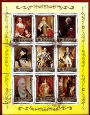 COREA colección 9 Sellos: Historia real de Europa ,La monarquía BX16G