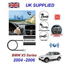 BMW x3 Bluetooth Mani Libere Telefono AUX input mp3 USB 1.0a Caricatore Modulo 04-06