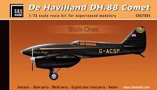 SBS Model 1/72 De Havilland DH.88 Comet full resin kit - SBS7004 Black Ones