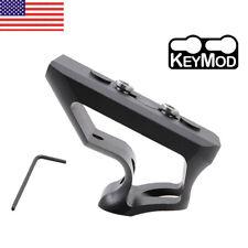 Angled Grip Picatinny Rail Skeletonized Tactical Foregrip Keymod w/15mm Screw US