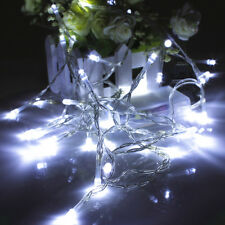 1-10M Battery Operated LED String Fairy Lights Xmas Tree Wedding Party Dec Lamp