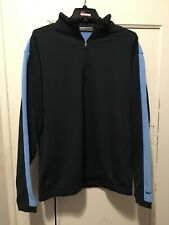 Nike Golf Therma Fit 1/4 Zip Pullover Mens Used Size Large 2 Tone Blue