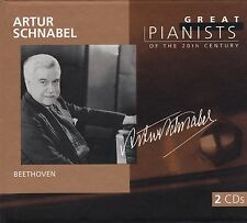 ARTUR SCHNABEL Great Pianists of the 20th Century 2 CD