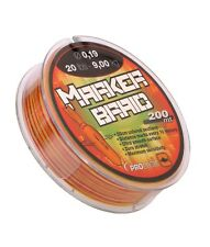 PRO LOGIC MARKER BRAID FISHING LINE 200M CARP BIG PIT CAST MARKER ZIG RIG BARBEL