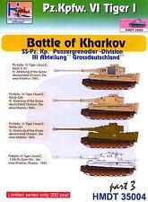 "H-Models Decals 1/35 TIGER I TANK BATTLE OF KHARKOV ""GROSSDEUTSCHLAND"" DIVISION"