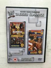 WWE WWF TAGGED CLASSICS DVD SUMMERSLAM 1992 & 1993 WRESTLING 2 DISC SET UK