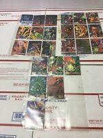 1995 DC Comics Versus Vs Marvel  & Marvel vs DC Comics Trading Cards Lot of 22