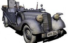 SD.KFZ. 2 TYPE 170VK, GERMAN MILITARY RADIO CAR, WW II ERA 1/35 MASTER BOX 3531