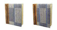 "Handmade paper notebook, i rettangoli pattern, 25 x 22 cm (10x8.5 "")"