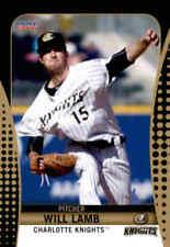 2016 Charlotte Knights Choice #15 Will Lamb Newport News Virginia Baseball Card