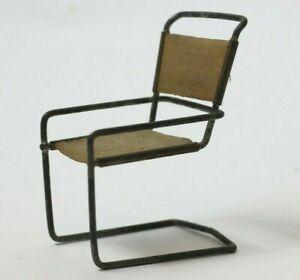 Miniature Bauhaus B34 Chair Design by Marcel Breuer, 1928, German