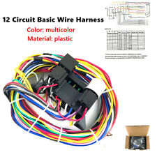 12 Circuit Basic Wire Harness Fuse Box Street Hot Rat Rod Wiring For Car Truck