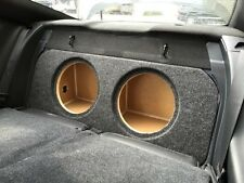 "ZEnclosures 2015+ Mustang 2-10"" FRONT FIRE Subwoofer Box Sub Speaker Box (V2,FF)"