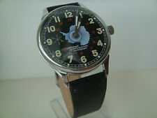 MOLNIJA MOLNIYA SOVIET USSR WATCH NEW case TRANSPARENT BACK COVER