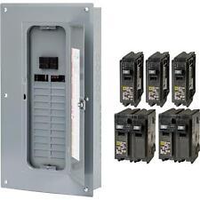 NEW Square-D 100-Amp 24-Space 48-Circuit Indoor Main-Breaker Panel Load-Center