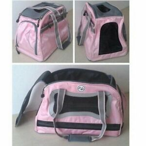 NWT PETELLIGENCE LOSH PINK AIRLINE APPORVED PET CARRIER (SHIPS FAST FROM CA.)