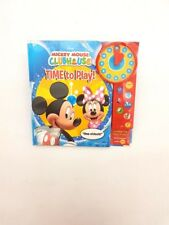 "Mickey Mouse Club House Sound Book "" TIME to PLAY!"""