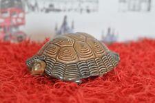 WADE - Fabulous Vintage 1970s Tortoise Lidded Trinket Pot - 16cm Long