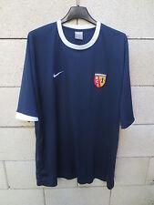 Maillot R.C LENS NIKE training football shirt bleu marine sans sponsor XL