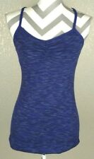 LUCY PURPLE RACERBACK ATHLETIC RUNNING WORKOUT YOGA TANK WOMEN'S SIZE SMALL