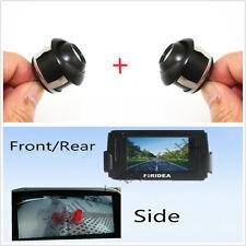 2 Pcs 360° Rotatable Car Front/Rear/Side Reverse Backup MINI Camera Waterproof