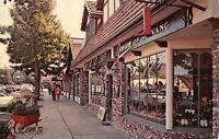 Solvang California~Main Street Shops~Jensen~Shoe Store Display Window~1960s