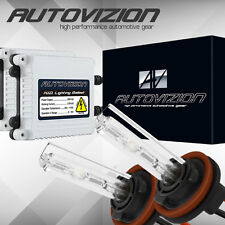 AUTOVIZION AC 35w Xenon HID Kit Slim H11 5000K White Beam HeadLight Conversion