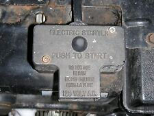 Tecumseh Electric Start Switch for Sears,Craftsman,MTD, Snowthrower,Snowblower