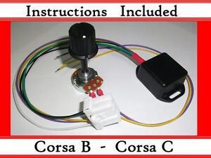 Corsa B C - Kit - Electric power steering controller box - With ECU plug - EPAS