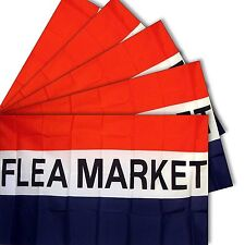 3x5 3'x5' Wholesale Set 5 Pack of Advertising Flea Market Business 5 Flags Flag