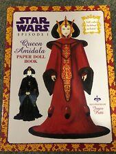 Star Wars Episode 1: Queen Amidala Paper Doll Book Brand New