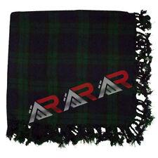 """Brand New AAR Scottish Tartan Black Watch Kilt Piper Fly Plaid 48"""" x 48"""""""