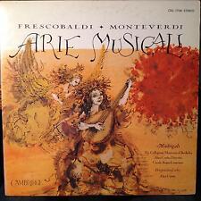 Alan Curtis - Arie Musicali Frescobaldi/Monteverdi LP VG+ CRS 1708 Cambridge '66