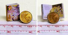 1123# Miniaturbuch - Bremer Stadmusikanten - Puppenhaus - Puppenstube - M 1zu12