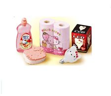 "Re-Ment Hello Kitty Market ""Household Items"" 1:6 Barbie dollhouse miniatures"