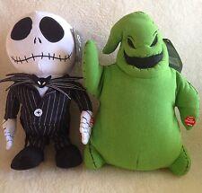 Jack Skellington & Oogie Boogie Dancing Plush Toy Doll NBC NBX Nightmare Before