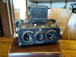 Alte Stereokamera Heidoscop