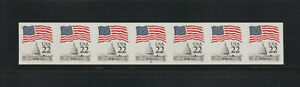 US ERROR Stamps: #2115f Flag Capitol. Imperf PS7 #19 PNC MNH $400.+