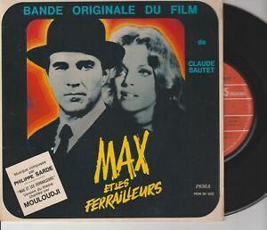 """Max Et Les Ferrailleurs / Mouloudji 45T 7"""" 45 Tours EP Bande Originale Du Film"""