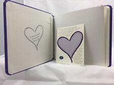 Creative Memories Scrapbook Photo Album Purple Heart Family Love 7x7 Triumph