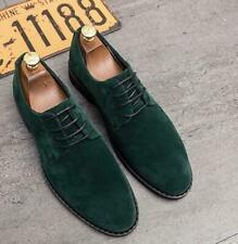 Mens Dress Formal Casual Pumps Suede Business Pointy Toe Wedding Shoes Oxfords