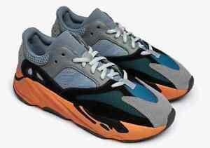 NEW! Size 9-11 ADIDAS YEEZY BOOST 700 'Wash Orange' FAST SHIP!! GW0296 100% Auth